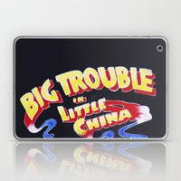 Big Trouble In Little Ch… Laptop & iPad Skin
