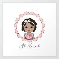 Al Anood Art Print