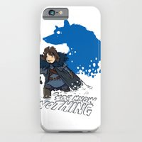 iPhone & iPod Case featuring You know nothing... by Adrien ADN Noterdaem