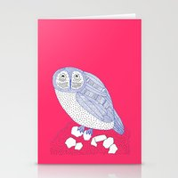 Just Another Owl Stationery Cards