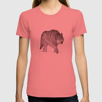 Winter Is Coming Womens Fitted Tee Pomegranate SMALL