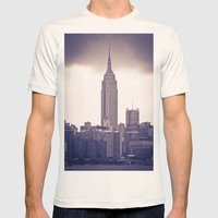 Urban Storm Mens Fitted Tee Natural SMALL