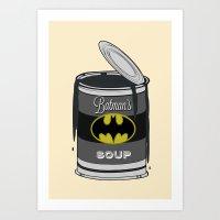 Batsoup Art Print
