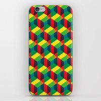Construct (colour) iPhone & iPod Skin