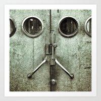 'DOORFACE' Art Print