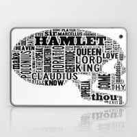 Shakespeare's Hamlet Skull Laptop & iPad Skin