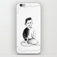 Portrait Of A Victorian … iPhone & iPod Skin
