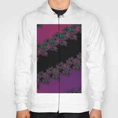 Fractal Layered Lace  Hoody