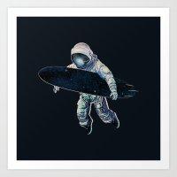 Gravitational Waves Art Print