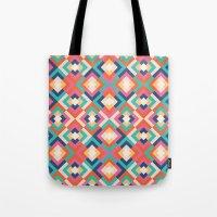 Colorful Geometric Tote Bag