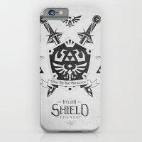 Legend of Zelda - The Hylian Shield Foundry iPhone 6 Slim Case