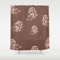 Ditsy Rose Shower Curtain