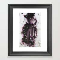The Coming From Earth Framed Art Print