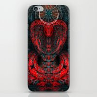 Seen Through Flames And … iPhone & iPod Skin