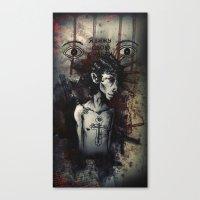 Dante Canvas Print
