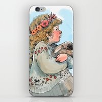 Little Rabbit iPhone & iPod Skin
