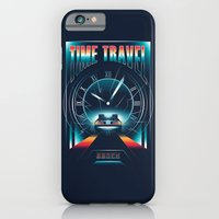 iPhone Cases featuring Time Travel by Steven Toang