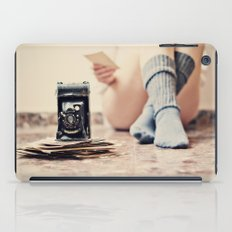 Past time will not return iPad Case