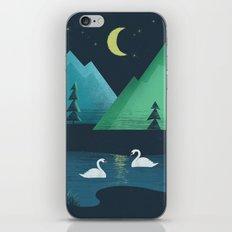 Moonlight Swim iPhone & iPod Skin