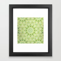 Sun Tile Framed Art Print