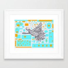 Dove of peace Framed Art Print