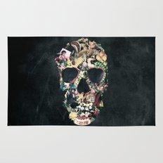Vintage Skull Rug