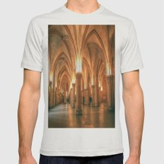 La Conciergerie Mens Fitted Tee Silver SMALL