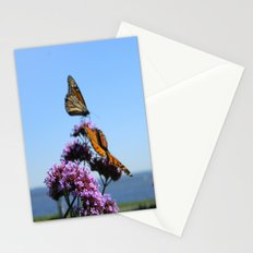 velvet butterflies Stationery Cards