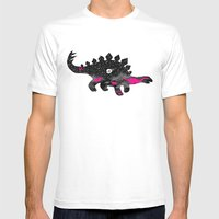 Extinction, pt. 1 Mens Fitted Tee White SMALL