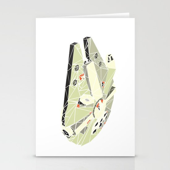 The Millennium Falcon Stationery Card