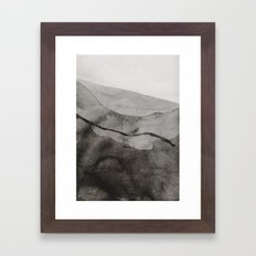 Ink Layers Framed Art Print