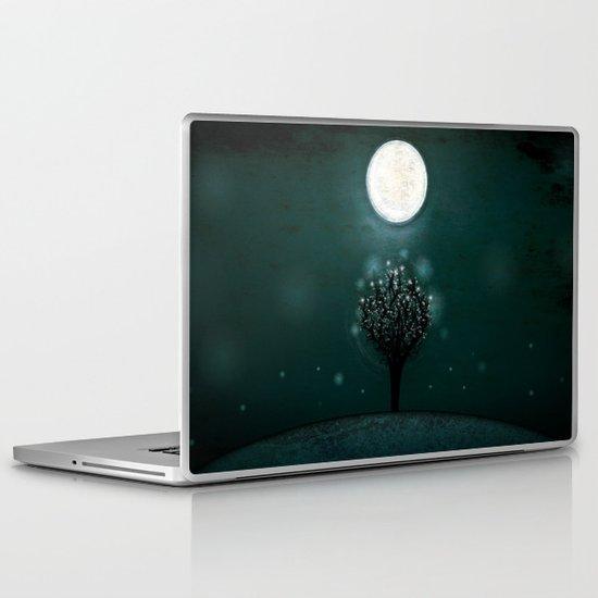 the midnight tree Laptop & iPad Skin