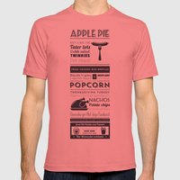Best American food Mens Fitted Tee Pomegranate SMALL