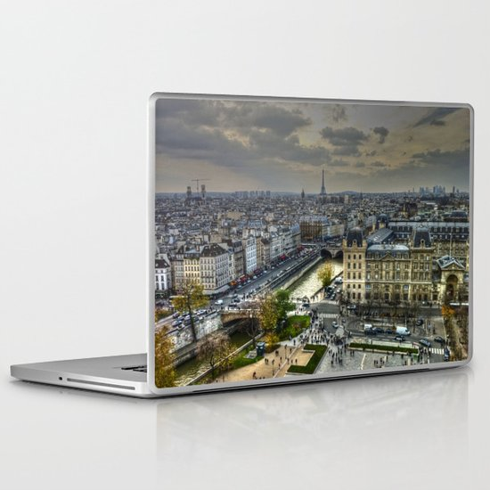 City of Paris Laptop & iPad Skin
