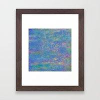 Sun and Rain Framed Art Print