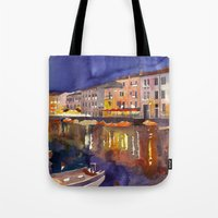 Night In Venice Part 1 Tote Bag