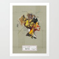 Erykah Badu - Soul Sister | Soul Brother Art Print