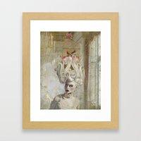 Pardon Madame, C'est Que… Framed Art Print