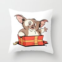 Gizmo Gift Throw Pillow