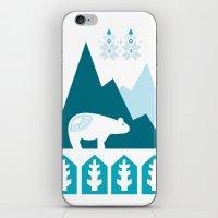 Heart the Polar Bear iPhone & iPod Skin