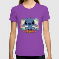 Aloha... Womens Fitted Tee Ultraviolet SMALL