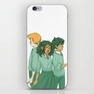 Golden Trio iPhone & iPod Skin