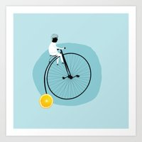 My Bike Art Print