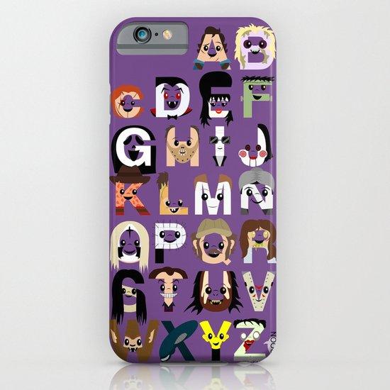 Horror Icon Alphabet iPhone & iPod Case