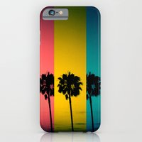 Vintage Palm Tree iPhone 6 Slim Case