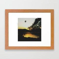 A Rua De Valdeorras Framed Art Print