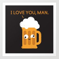 Art Print featuring Brewmance by David Olenick