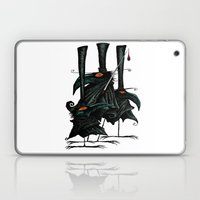 Murder Of Crows Laptop & iPad Skin