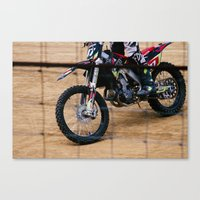 Dirt'n Canvas Print
