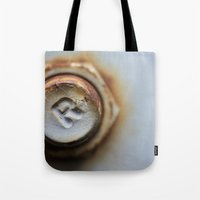 R Bolted Tote Bag